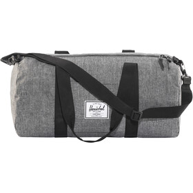 Herschel Sutton Mid-Volume Duffelilaukku, raven crosshatch/black
